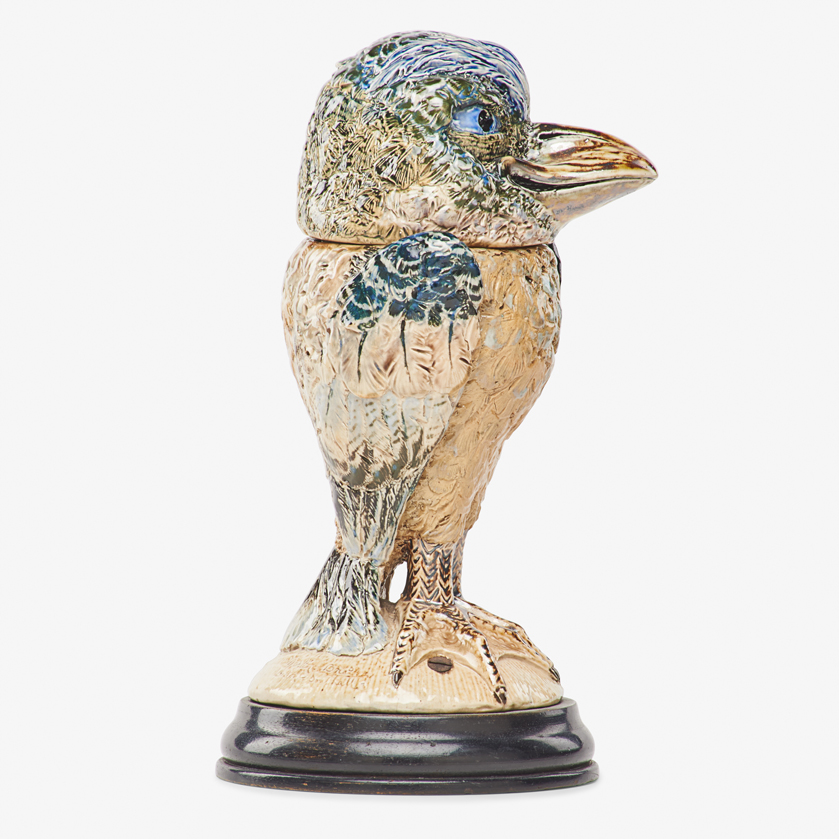 Lot 26 - ROBERT W. MARTIN; MARTIN BROTHERS BIRD TOBACCO JAR