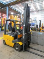 Lot 14 - 2006 JUNGHEINRICH MODEL EFG 425K 2250KG ELECTRIC CB FORKLIFT TRUCK