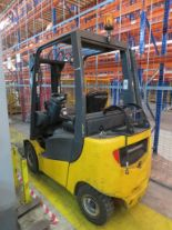 Lot 11 - 2006 JUNGHEINRICH MODEL TFG 316 1600KG GAS POWERED CB FORKLIFT TRUCK