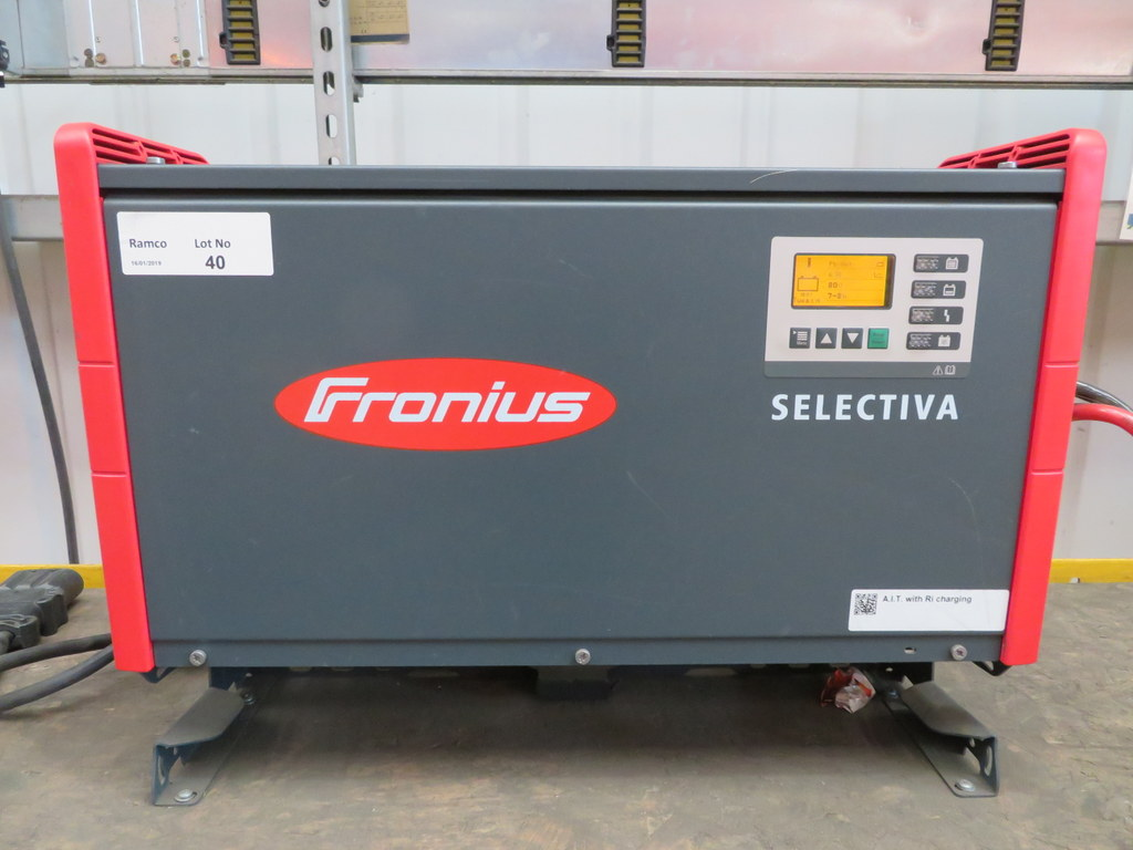 Lot 40 - FRONIUS SELECTIVA 8090 8KW - 80V BATTERY CHARGER; SERIAL NO 27313753