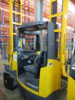 Lot 6 - 2008 JUNGHEINRICH MODEL ETV 320 2000KG ELECTRIC REACH TRUCK
