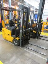 Lot 15 - 2006 JUNGHEINRICH MODEL EFG 113 1250KG ELECTRIC CB THREE WHEEL FLT