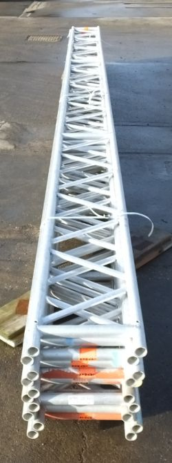Layher Scaffolding Ladder Beams - Staging Board sections - Unit Beam SS400, Dessa Staging sections, Ladders
