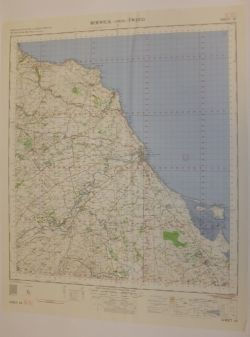 Large collection of Ex-MoD British Isle War Office Maps - Circa 1940 to 1960 1st to 7th editions including Popular Editions