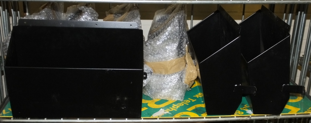 Lot 38 - 7x Vehicle Document Metal Boxes