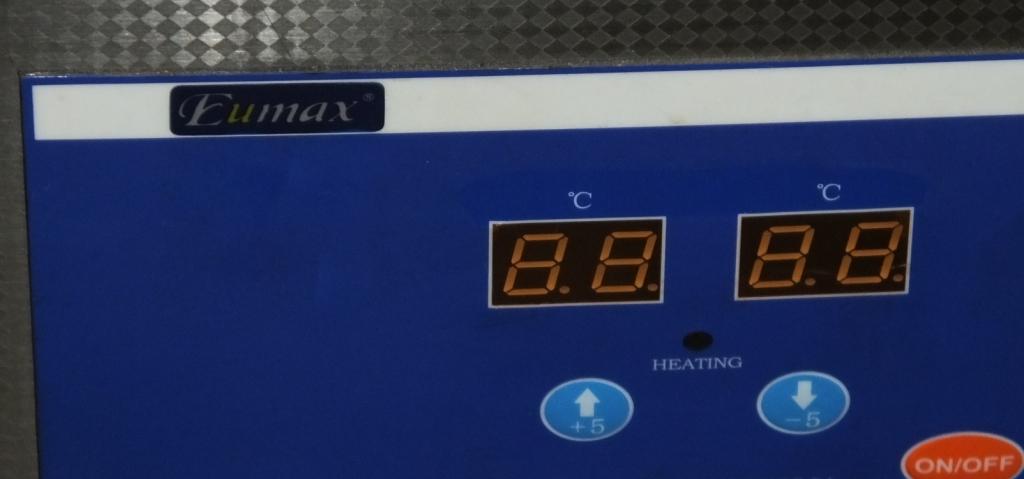 Lot 18 - Eumax Digital Ultrasonic Cleaning Bath - UD500H-15L