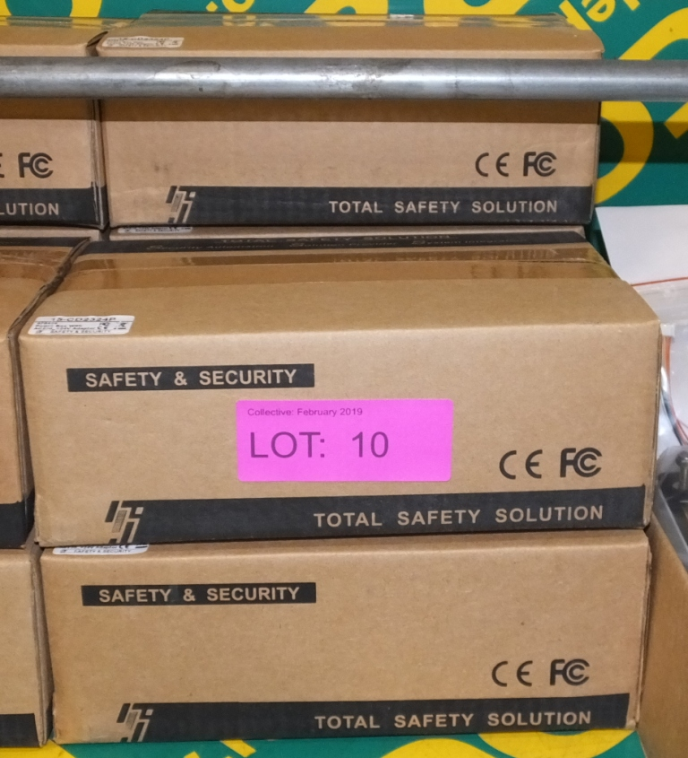 Lot 10 - 3x 230V to 24V Power Boxes - CDC 234P