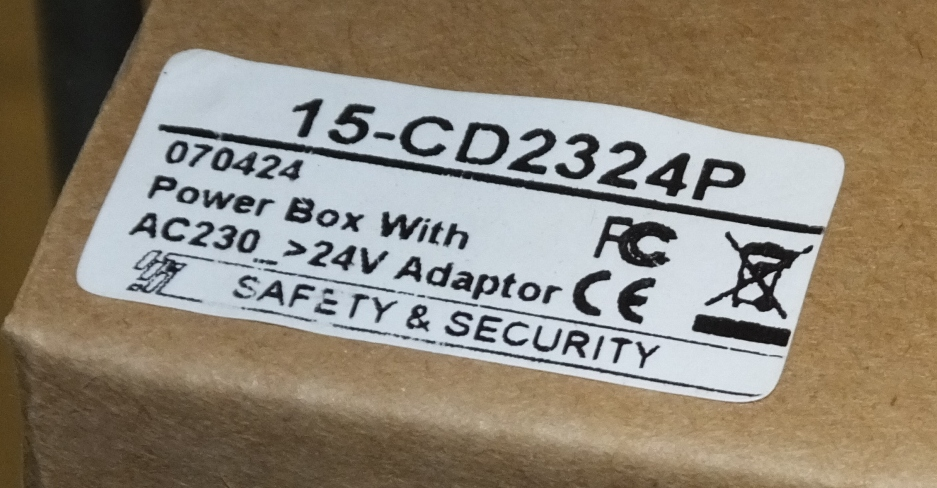 Lot 12 - 3x 230V to 24V Power Boxes - CDC 234P