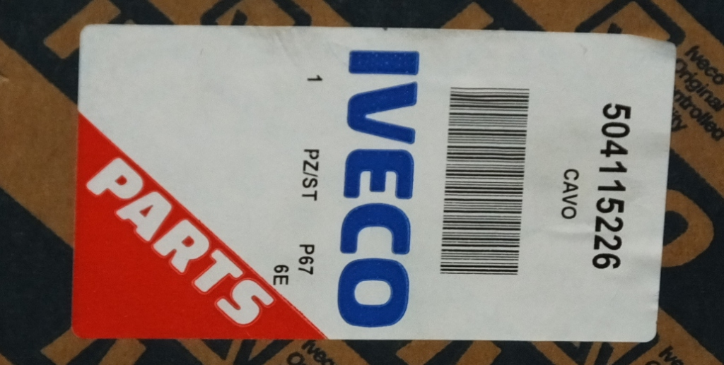 Lot 46 - 3x Iveco 13 Pin Towing Socket Short Cable - 504115226 - Cavo - PZ/ST - P67