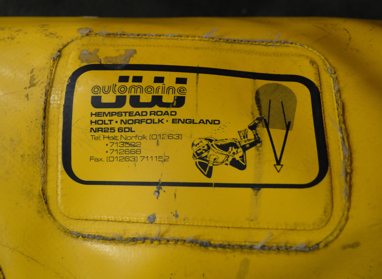 Lot 2 - J W Automarine Heavy Duty Flotation Bag 1000kg.
