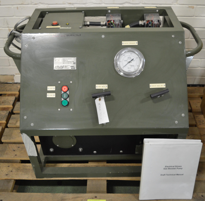 Lot 7 - Nitrogen Boost Pump Unit.