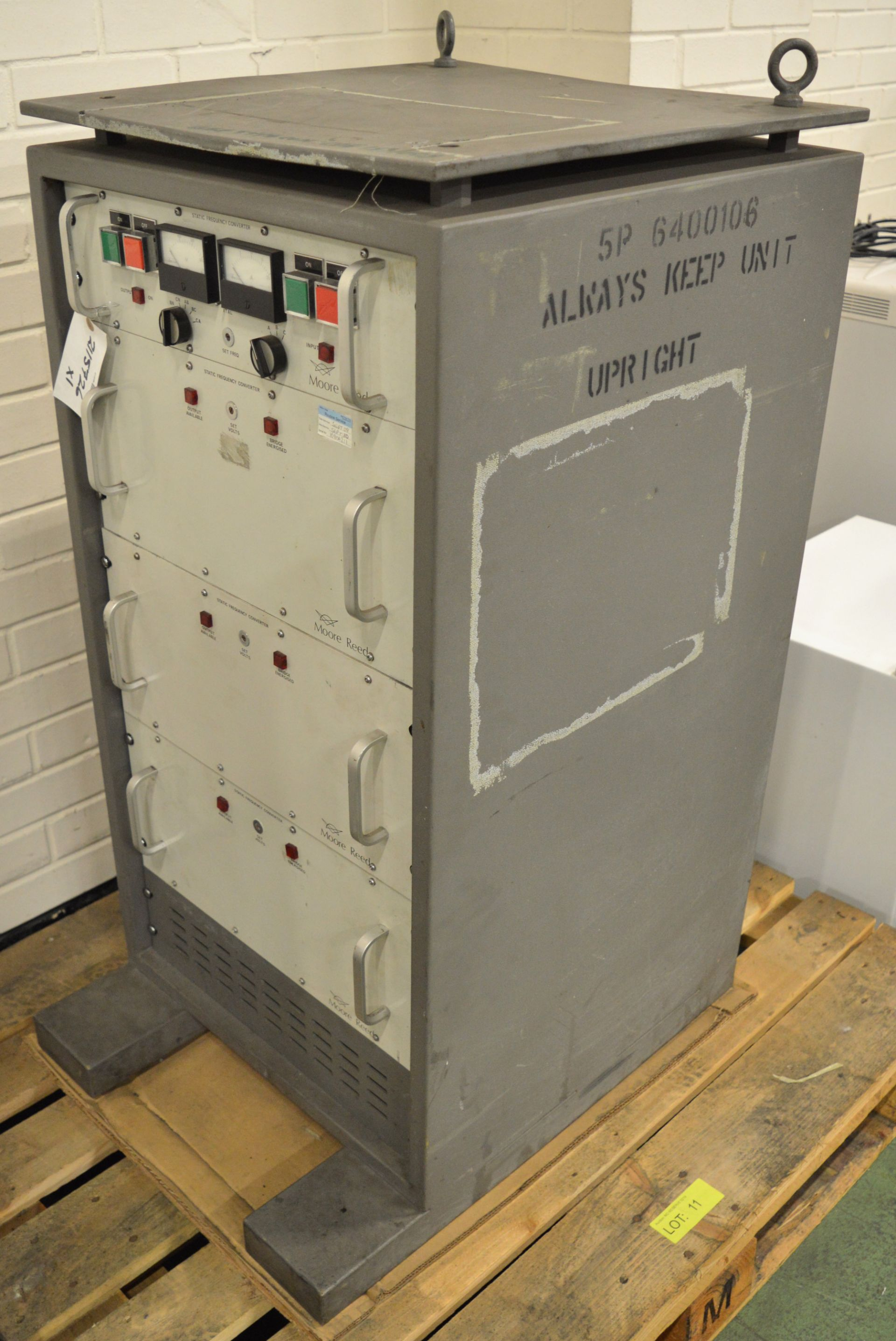 Lot 11 - Moore Reed Static Frequency Converter SFC 6K.