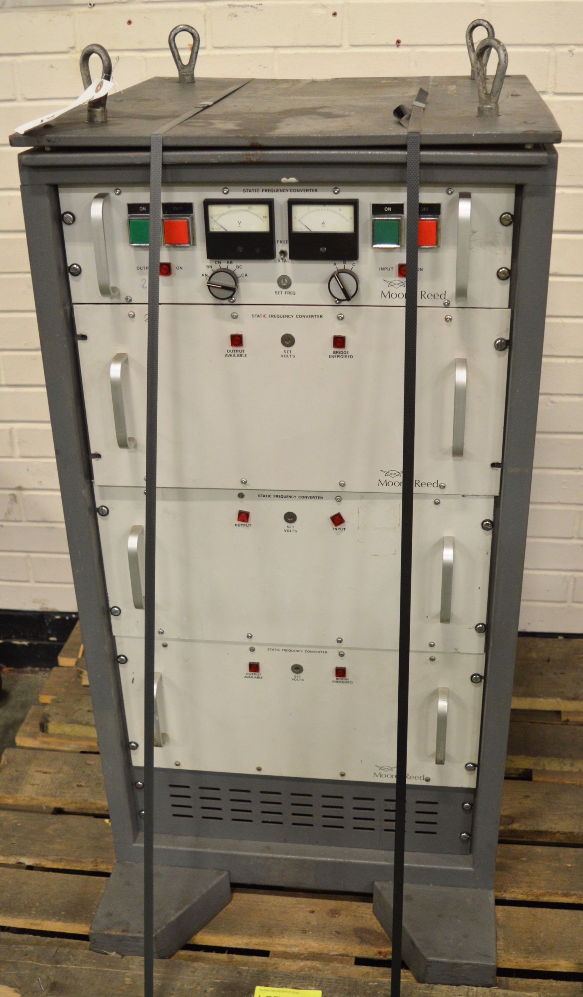 Lot 13 - Moore Reed Static Frequency Converter SFC 6K.