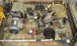 Lot 41 - Hydraulic Pump, Airline Pressure Filters & Regulators.