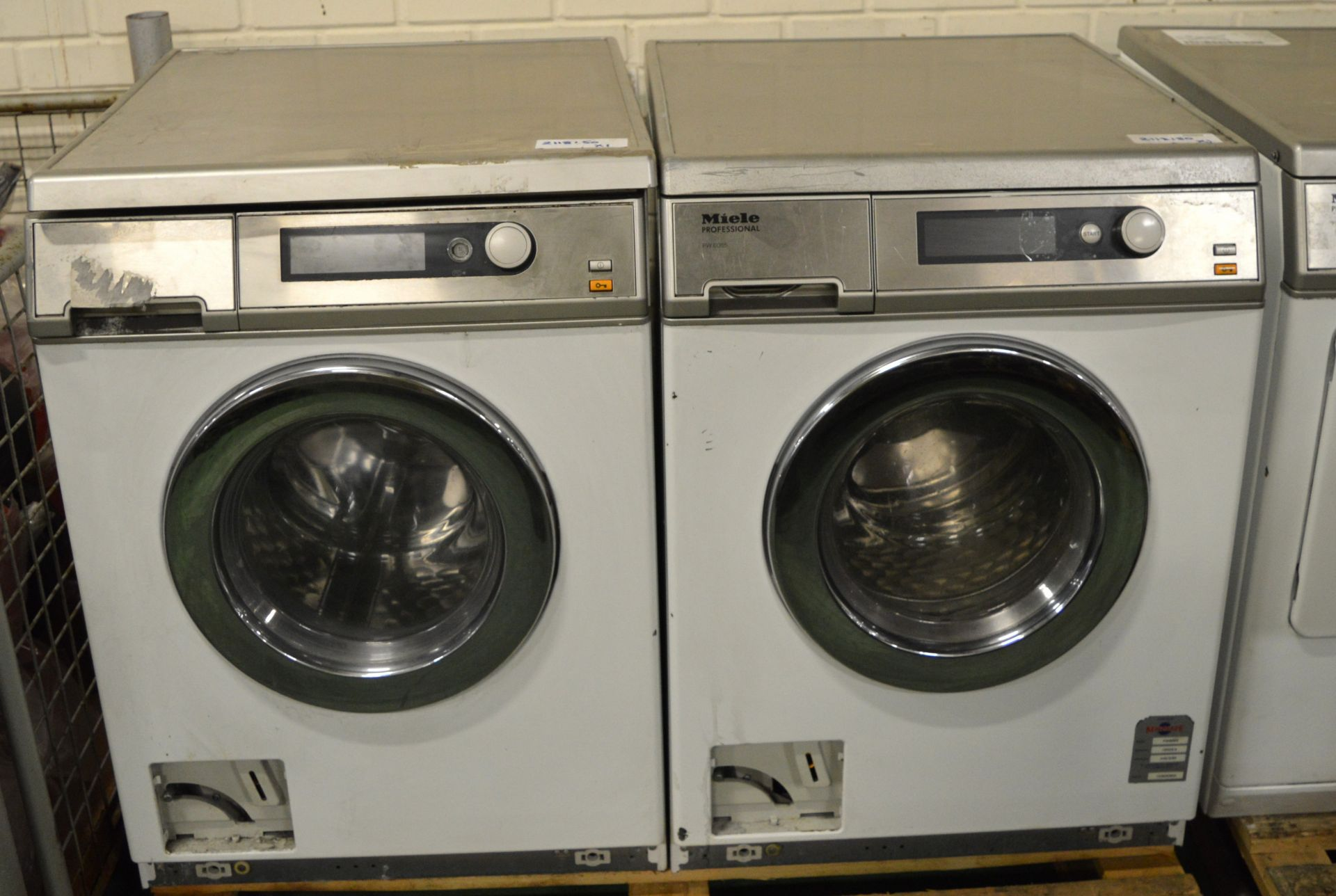 Lot 31 - 2x Miele Professional PW 6065 Washing Machine.
