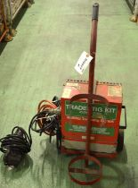 Lot 29 - Murex Trades Tig Kit Portable Welder DC145.