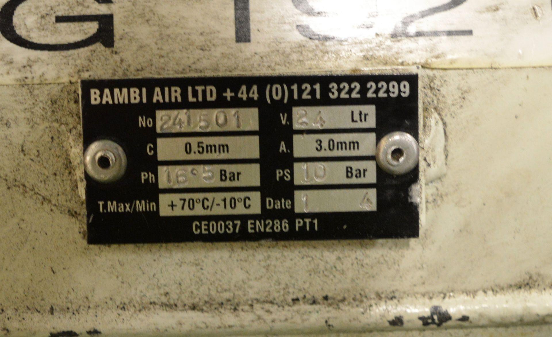Lot 15 - Bambi Silent Compressor 24ltr.