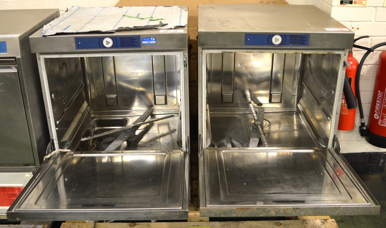 Lot 25 - 2x Hobart FX-A-SEF 12/131 Dishwasher 440v 3ph.