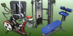 Commercial Strength & Cardio Gym Equipment Auction To Include Brands - Hammer Strength, Technogym, Life Fitness, Concept 2 & More!