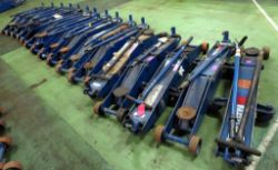 Ramco Weber Industrial 10 Tonne Vehicle Trolley Jack Auction - Direct From The MoD - No Reserve