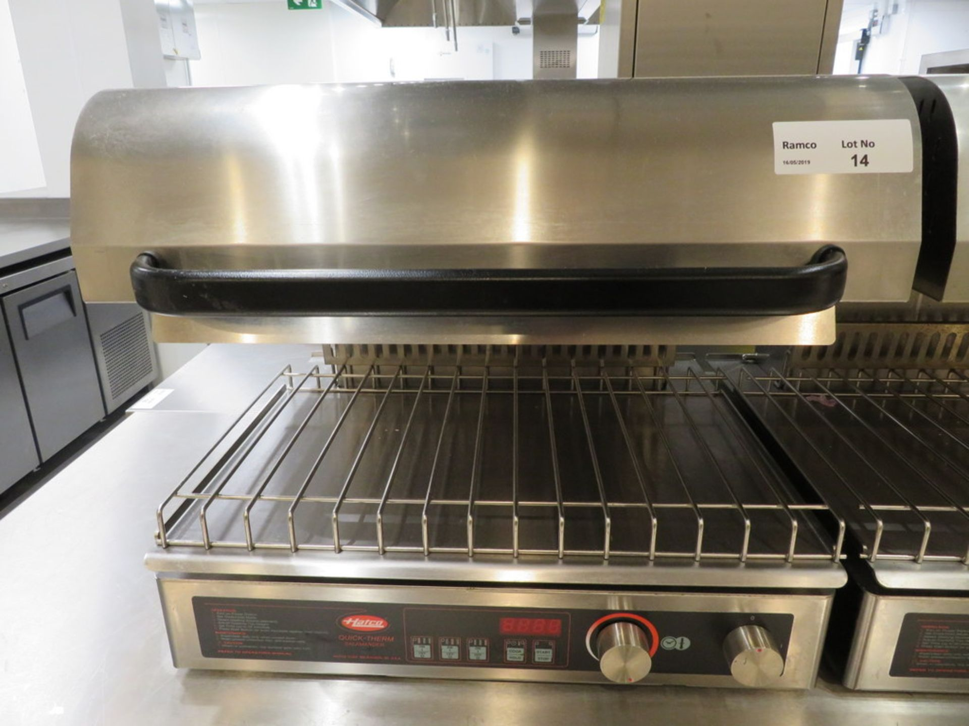 Lot 14 - HATCO QUICK THERM SALAMANDER GRILL