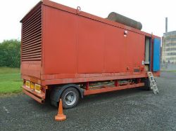 NOW LIVE, LOCATION - WEST SCOTTISH BORDERS. ONSITE AUCTION OF 500KVA GENSETS, JACKLEG CABINS, LIGHTING TOWERS, WASTE COMPACTOR ETC