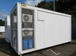 Online Auction of Containerised Rohde & Schwarz Digital Television Transmission Systems