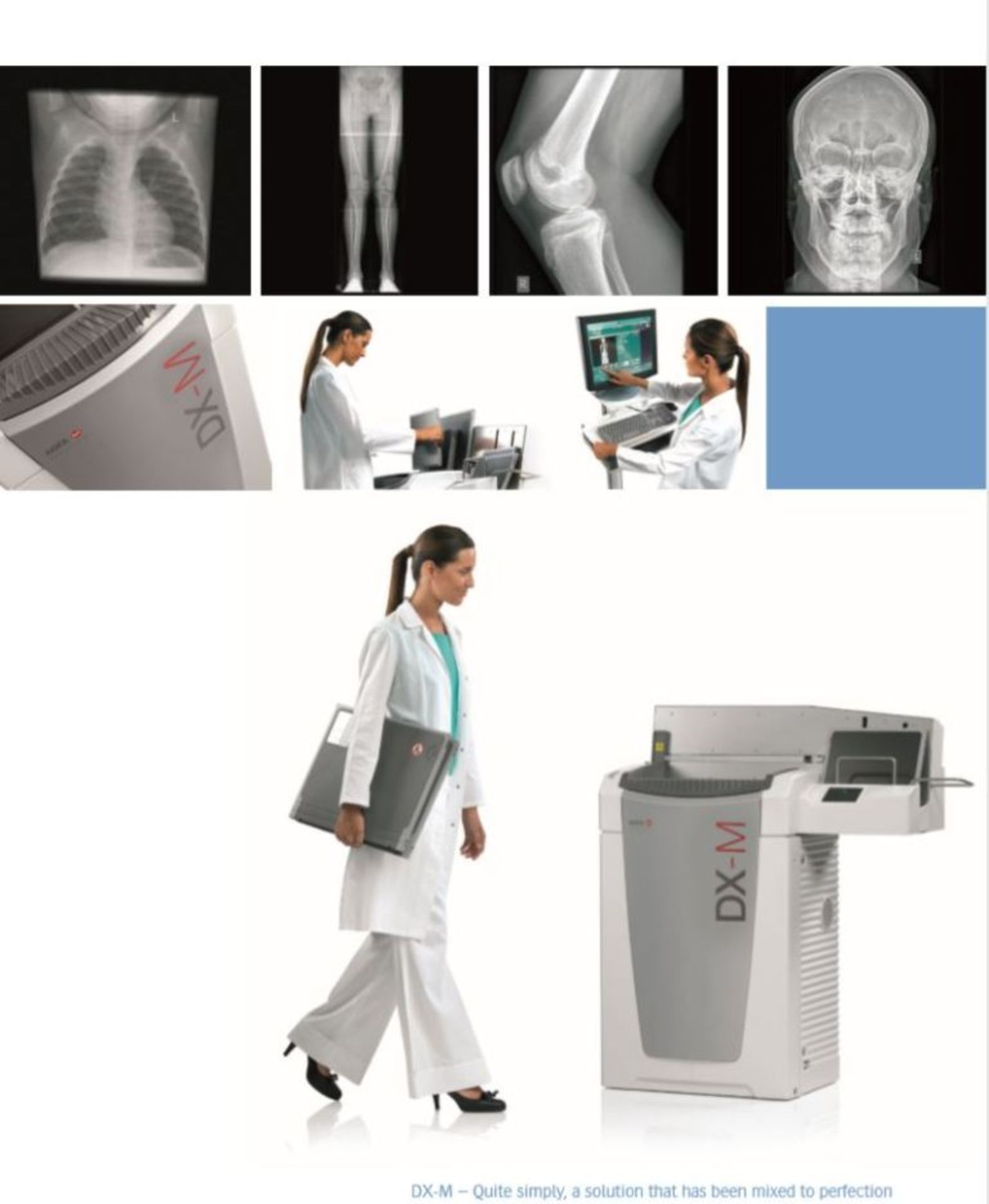 Lot 1895 - LOCATED AT MELTHAM - Agfa HealthCare's DX-M CR (Computed Radiography)