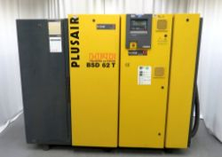Industrial Compressor Auction To Include - Plusair HPC, Motivair, Compair Broomwade & Abac