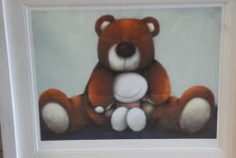 """Doug Hyde (British, b. 1972), """"Bear Hug"""", limited edition giclee print, signed and titled in pencil,"""