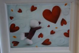"""Doug Hyde (British, b. 1972), """"Hold on to Love"""", a limited edition giclee print, signed and titled"""