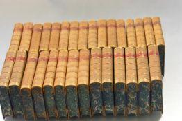 FINE BINDINGS -- The Quarterly Review, London, John Murray, 1892-1897, 1899-1907, 30 vols., 8vo.,