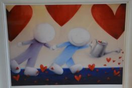 """Doug Hyde (British, b. 1972), """"Love Keeps Growing"""", a limited edition giclee print, signed in pencil"""