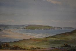 """Frank Watson Wood Jnr. (British, 1900-1985), """"The Sands and Coast at Bettyhill, Sutherlandshire"""","""