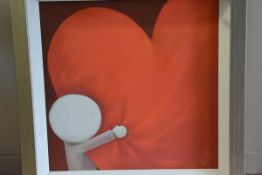 """Doug Hyde (British, b. 1972), """"Looking after Love"""", a limited edition giclee print, ed. 397/495,"""