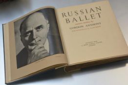 ANTHONY (Gordon.) Russian Ballet. Camera Studies by Gordon Anthony with an Introduction by Arnold