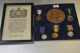 A First World War medal group to Major Montgomerie Boyle (1859-1919), R.A.S.C., comprising: the