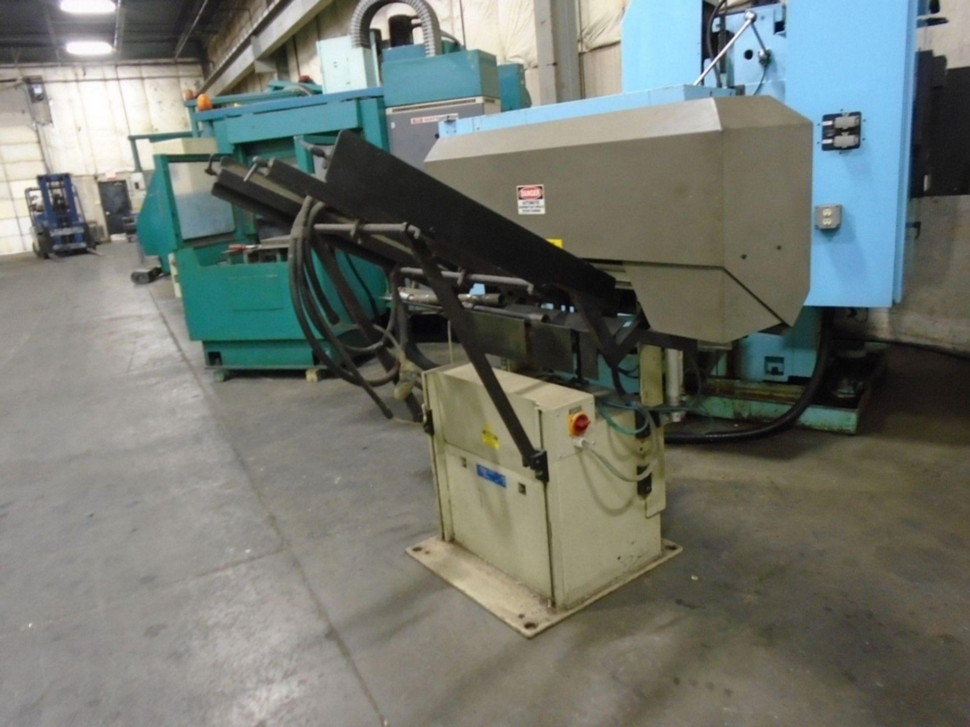 Lot 13 - LNS Quick Load LNS-SA Automatic Servo Bar Loader  Model: LNS-SA 2534 ORVIN (Quick-Load)  Bar Stock
