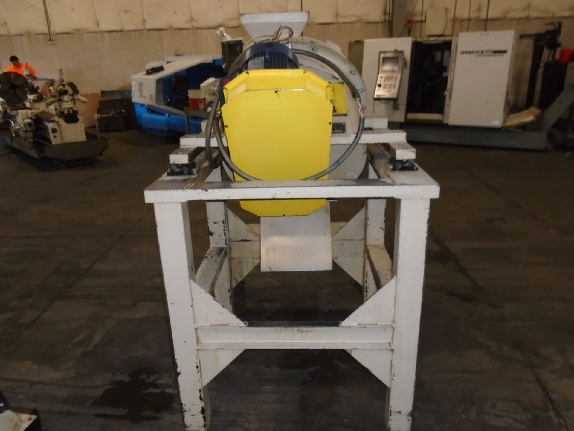 Lot 116A - Scrap Tech Model HC Tornado Continuous Centrifuge Chip Spinner Multi Station  SN: 2006 Year: 2006