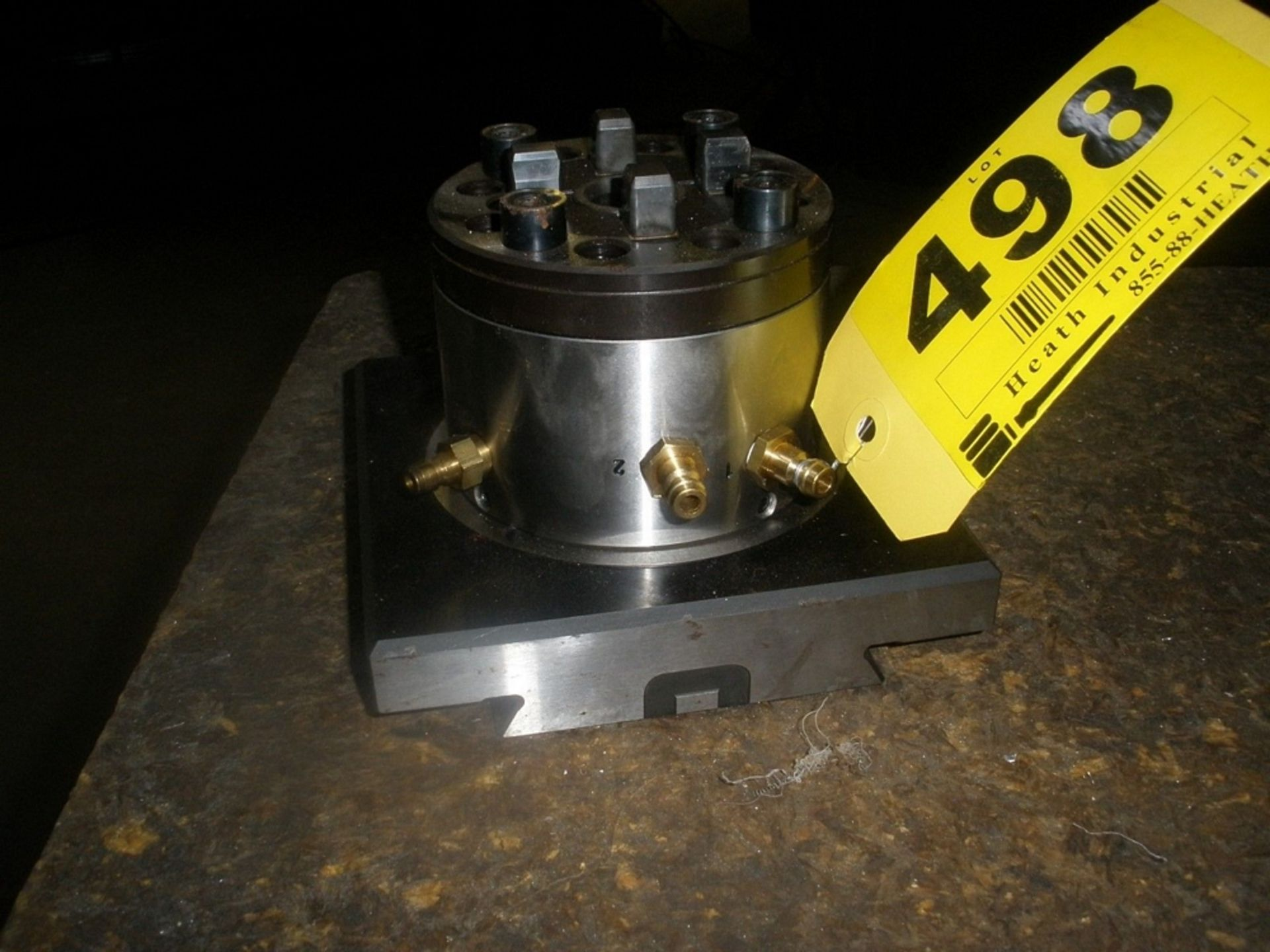 Lot 31 - System 3R Model 3R-607 EDM Automatic Chuck Maxi-Micro System 3R OEM 3R-607.1 Pneumatic Chuck Adapter