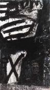 Franco Kappl (hs art)Klagenfurt 1962 *Ohne Titel / untitledÖl auf Leinwand / oil on canvas150 x 85