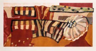 Xenia Hausner (hs art)Wien 1951 *Zerrüttete Verhältnissevon der Künstlerin übermalte