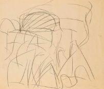 Wolfgang HolleghaKlagenfurt 1929 *Ohne Titel / untitledBleistift auf Transparentpapier / pencil on