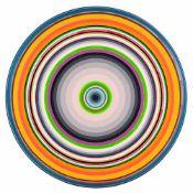 Gary Lang (hs art)Ojai, CA 1950 *MA RRO RO (aus der Serie CIRCLES)Acryl auf Leinwand / acrylic on