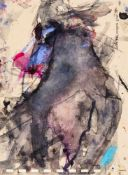 Martha JungwirthWien 1940 *Ohne Titel / untitledAquarell auf Papier / watercolour on paper20 x 14,