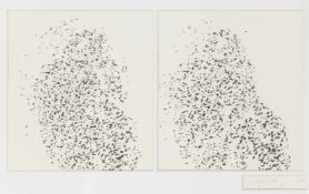 Alfons SchillingBasel 1934 - 2013 WienSelbstporträt als RaucherBleistift auf Papier / pencil on