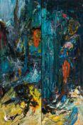 Hubert Scheibl (hs art)Gmunden 1952 *Ohne Titel (Diptychon/diptych)Öl auf Leinwand / oil on