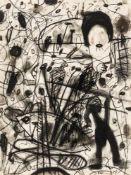 Gunter DamischSteyr 1958 - 2016 WienOhne Titel / untitledKohle auf Papier / coal on paper40 x 30
