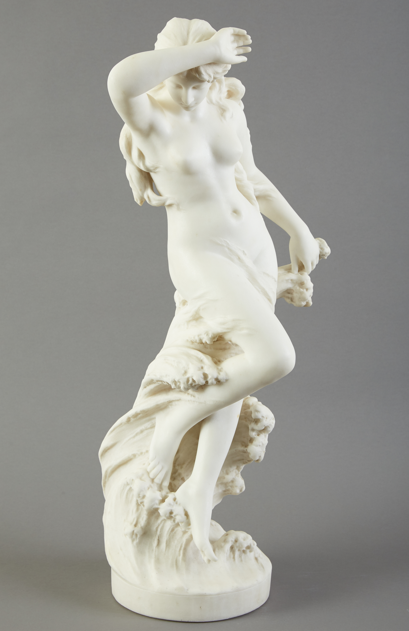Lot 81 - A. Piazza Daphne Marble Sculpture