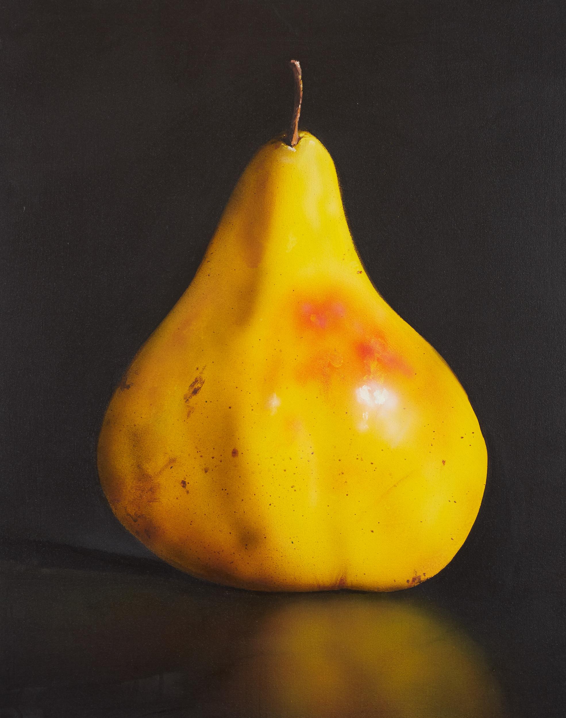 Lot 30 - Tom Seghi Yellow Pear Painting